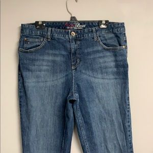 WOMENS TOMMY HILFIGER HOPE BOOTCUT JEANS  16L
